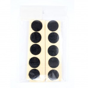 Velcro Sticky Dots Black (20 Pack)