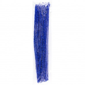 Pipe Cleaner Tinsel (30 Pack) Blue