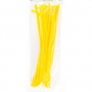 Pipe Cleaner 30cm (30 Pack) Yellow