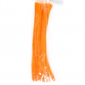 Pipe Cleaner 30cm (30 Pack) Orange