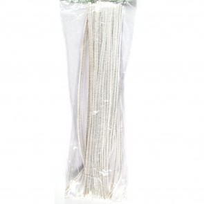 Pipe Cleaner 30cm (30 Pack) White