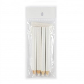 Fabric Marking Pencil White (4 Pack)
