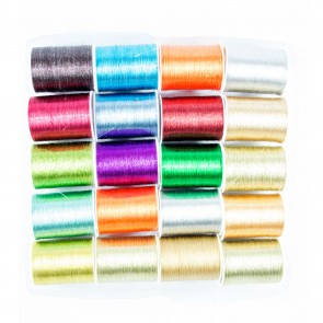 Metallic Thread 75 Metre (20 Pack)