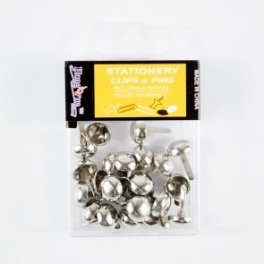 Split Pin 25mm (20 Pack) Silver