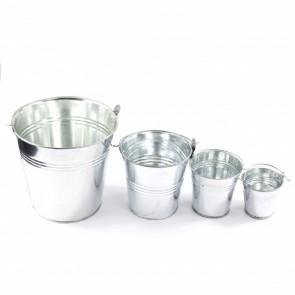 Tin Bucket 6.5 x 6 x 4.5cm