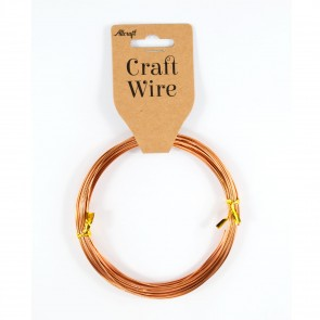 Craft Wire Aluminium 1mm Copper (10 Metres)
