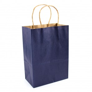 Paper Gift Bag 21X27cm Dark Blue