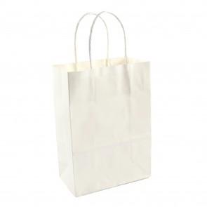 Paper Gift Bag 21X27cm White