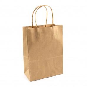 Paper Gift Bag 21X27cm Kraft
