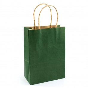 Paper Gift Bag 15x21cm Green