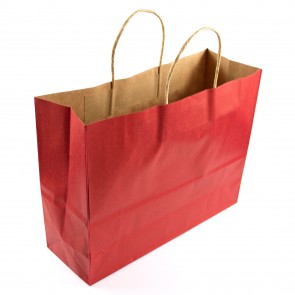 Paper Gift Bag 25x32cm Red