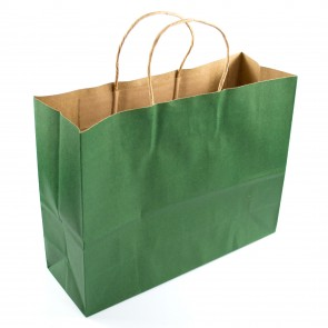 Paper Gift Bag 25x32cm Green