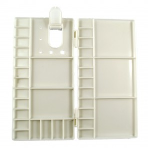Plastic Folding Paint Palette 26 x 13.5cm