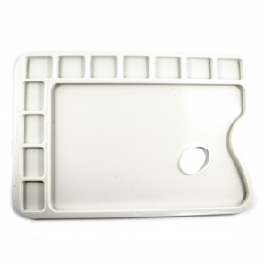 Plastic Paint Palette Rectangle 34 x 23.5cm