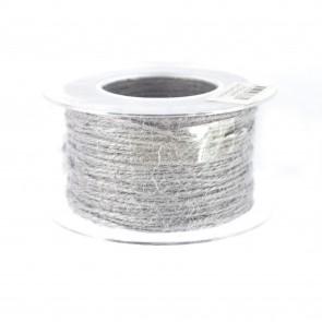 Jute Cord 50m Grey