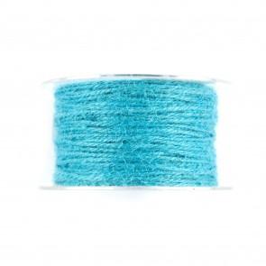 Jute Cord Turquoise (50 Metres)