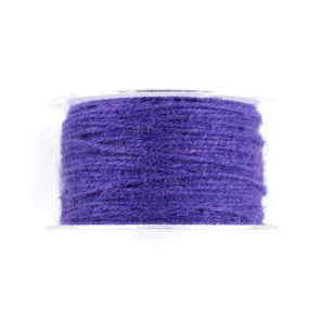 Jute Cord 50m Purple