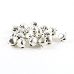Bells Jingle 8mm (20 Pack) Silver