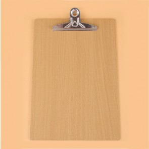 Clipboard A4 Wood Print Jumbo Clip