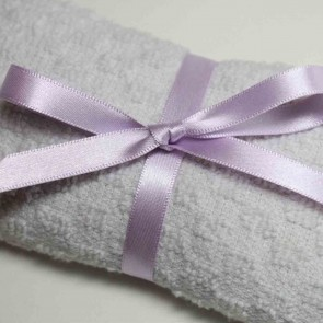 Double Face Satin Ribbon 10mm Lilac (5 Metres)