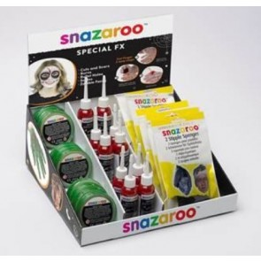 Snazaroo Counter Display Unit Halloween Special FX