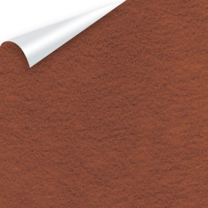 Sticky Back Felt A4 (10 Pack) Brown - SLIGHT WATER DAMAGE ON BACK SIDE BUT 100% SELLABLE