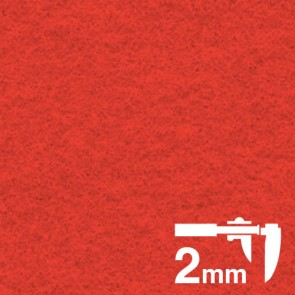 Acrylic Extra Thick Felt 3mm A4 Red