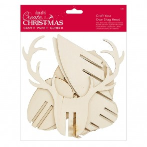 Craft Your Own Stag Head (1pk) - Create Christmas