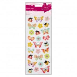 Glitter  Stickers - Butterflies