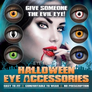 Eye Fusion Halloween Eye Accessories Poster 7