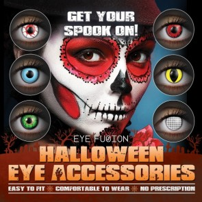 Eye Fusion Halloween Eye Accessories Poster 6