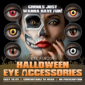 Eye Fusion Halloween Eye Accessories Poster 5