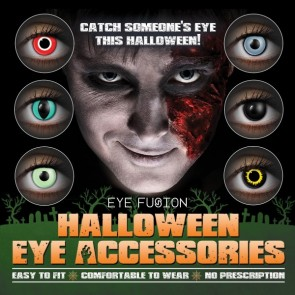Eye Fusion Halloween Eye Accessories Poster 3