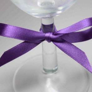 Double Face Satin Ribbon 15mm Purple (5 Metres)