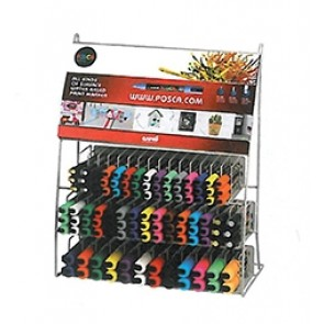 PC-141 POSCA Marker Counter 141pc Display