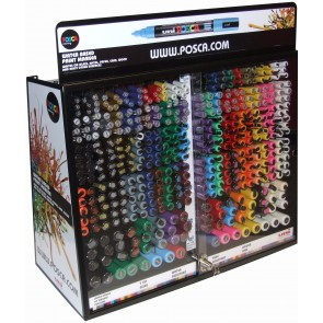PC-448 POSCA Marker Counter 448pc Display