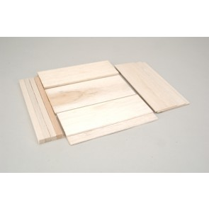 "Balsa Wood Assorted Pack - 2 x 3 x 9"""