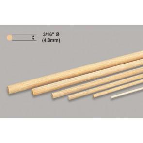 """Balsa Wood Dowel - 3/16 x 36"""""""