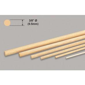 """Balsa Wood Dowel - 3/8 x 36"""""""