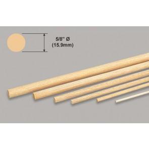"""Balsa Wood Dowel - 5/8 x 36"""""""
