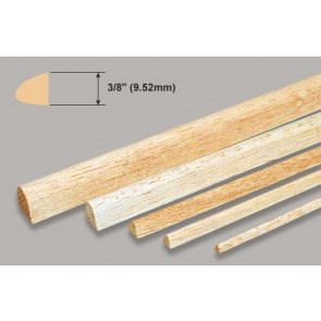 Balsa Wood Leading Edge - 3/8 x 3/8 x 36""