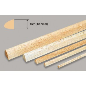 Balsa Wood Leading Edge - 1/2 x 1/2 x 36""