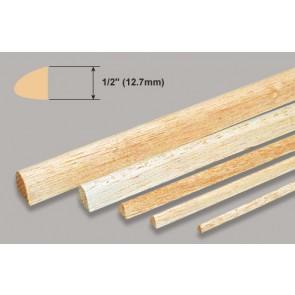 "Balsa Wood Leading Edge - 1/2 x 1/2 x 36"""