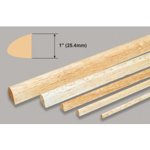 Balsa Wood Leading Edge - 1 x 1 x 36""