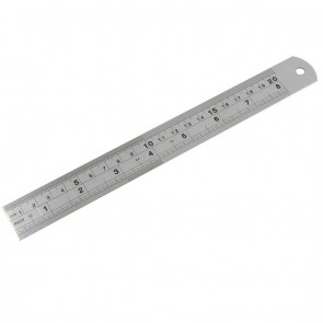 Stainless Steel Ruler 20cm