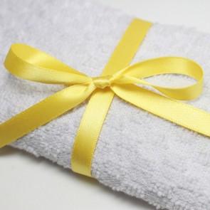 Double Face Satin Ribbon 15mm Yellow (5 Metres)