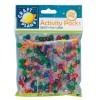 Pony Beads (approx 300pcs, 80g) - Glitter