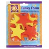 Funky Foam Assorted Pack (Self Adhesive) - Stars