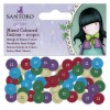 Coloured Mixed Buttons (100pcs) - Santoro