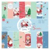 """6 x 6"""" Paper Pack (32pk) - At Home with Santa"""